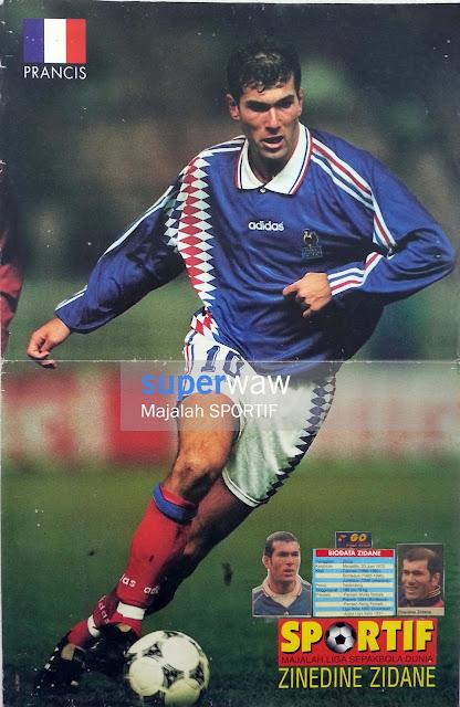 Zinedine Zidane France 1996