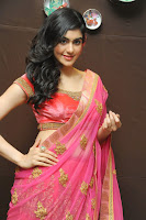 Adah Sharma Latest Photos in Saree HeyAndhra