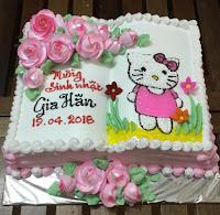 Bánh kem sinh nhật dễ thương