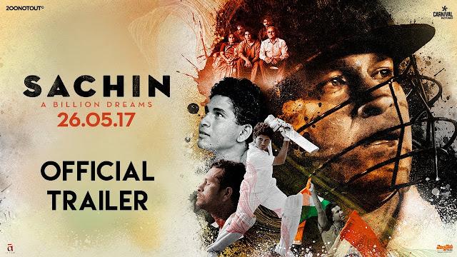 Sachin A Billion Dreams Movie Official Trailer | Sachin Tendulkar