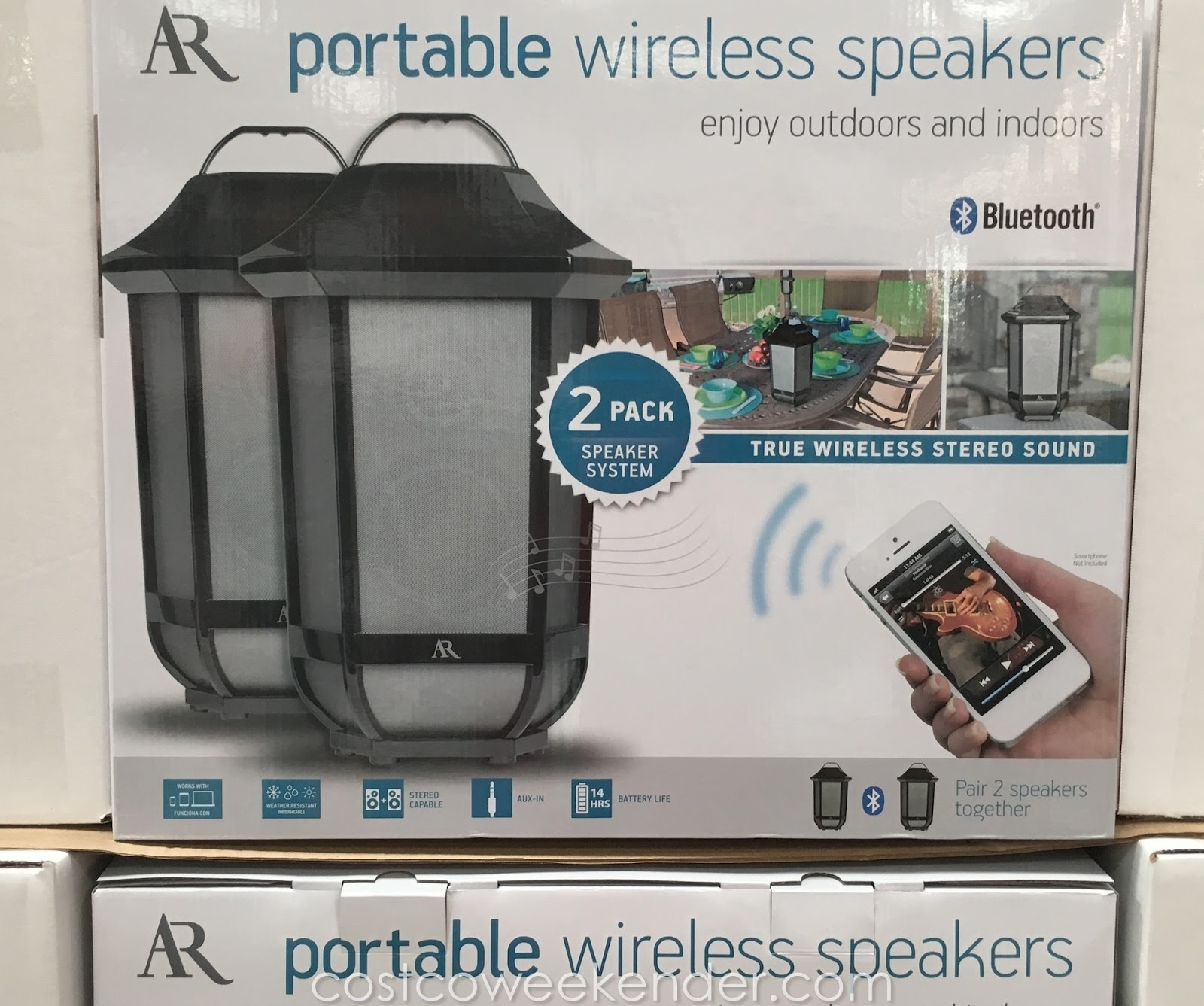Listen To Some Of Your Favorite Jams With The Acoustic Research Glendale Portable Wireless Speakers