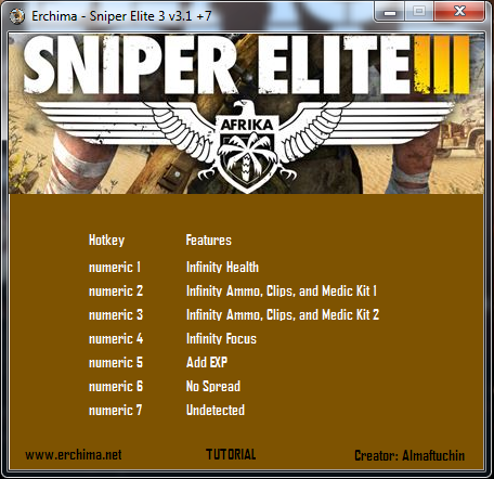 download sniper elite 3 trainer