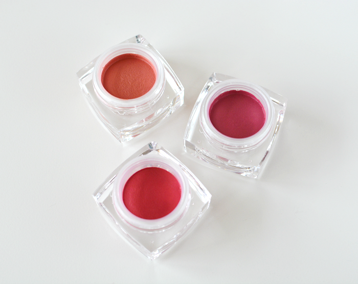 Elf Studio Cream Blush in Tease, Vixen and Seductress