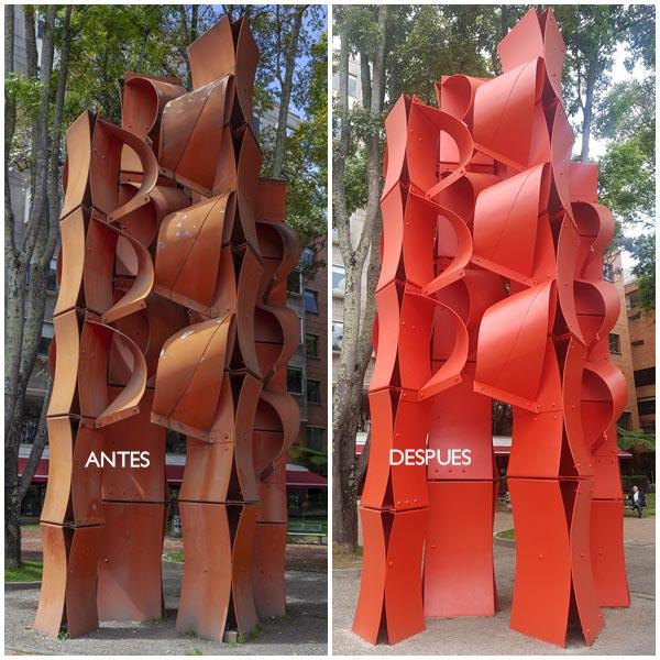 Alcaldía-Bogota-escultura-La-Gran-Cascada-restaurada-cultura