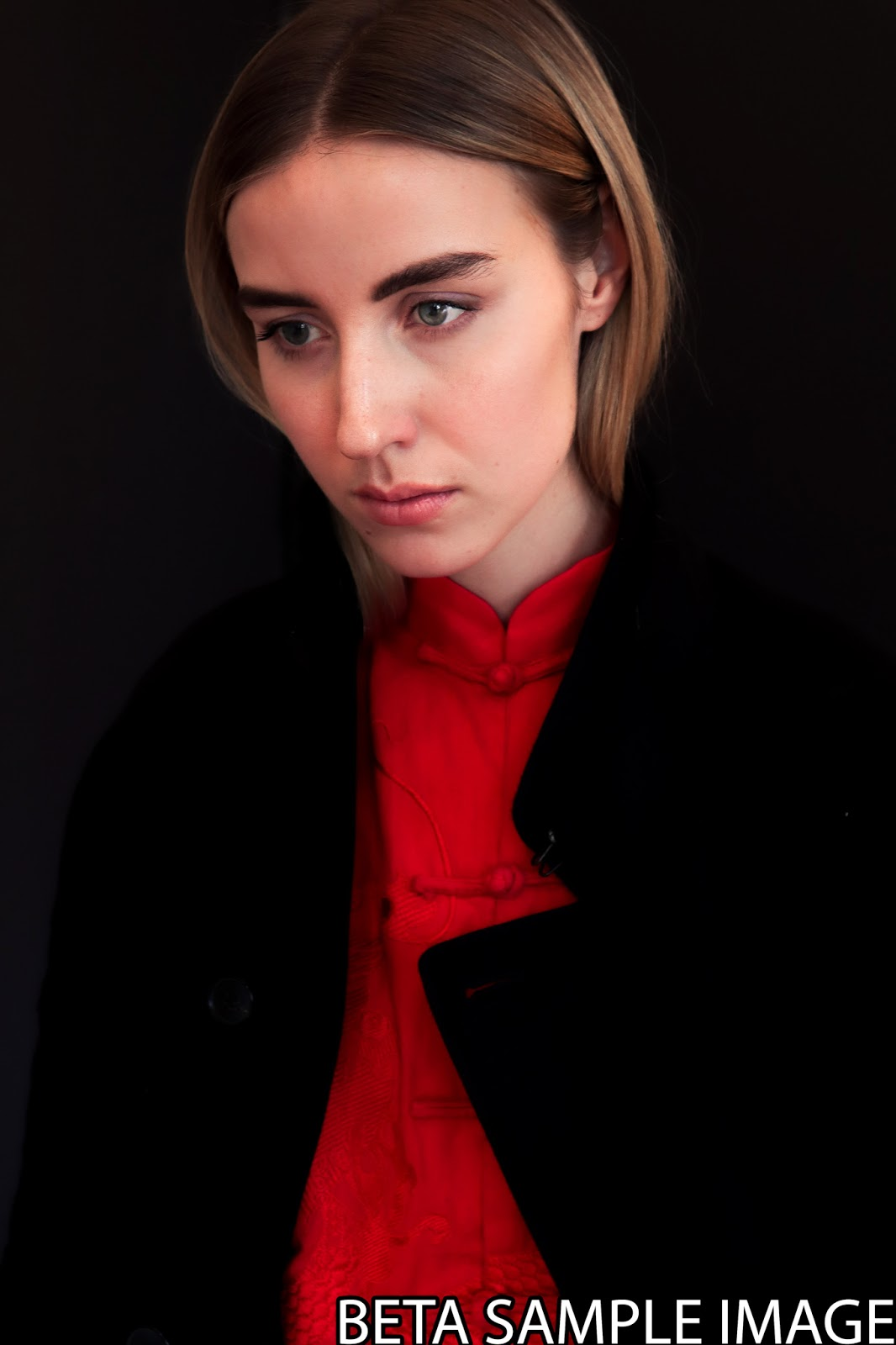 Портрет снятый на Canon EOS M50