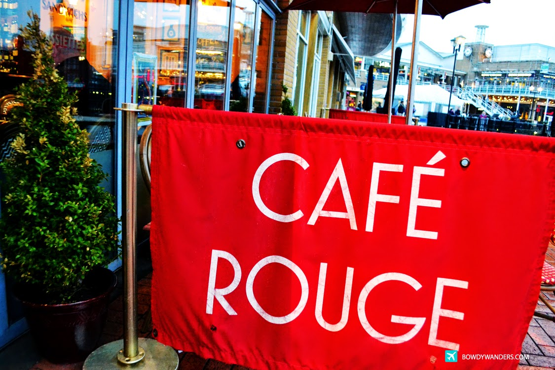 Cafe Rouge in Mermaid Quay, Cardiff