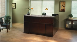 Mayline Sorrento Series Reception Desk