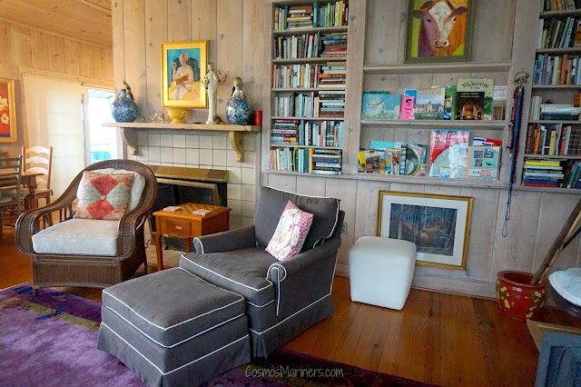 A Cozy Mountain Cottage AirBnB in Saluda, North Carolina: A Home Tour | CosmosMariners.com