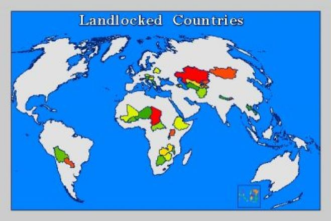 The rights accorded the landlocked countries