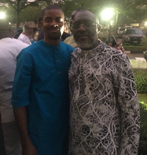Olisa Metuh is released - eats dinner with his family
