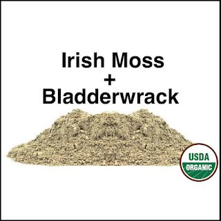 Irish Moss Bladderwrack Blend Powder