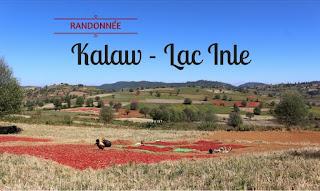 Randonnée de Kalaw au lac Inle en 2 jours 1 nuit - Birmanie