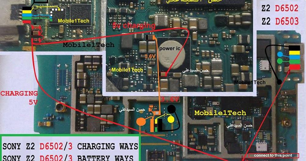 Sony Xperia Z2 Usb Charging Problem Solution Jumper Ways