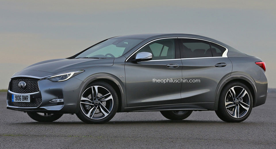 Infiniti Q30 Sedan Could Prove A Formidable Audi A3 Rival