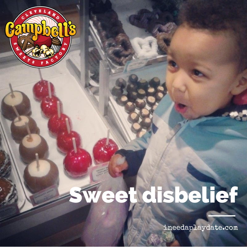 Campbell Sweets is #KeepingCLESweet
