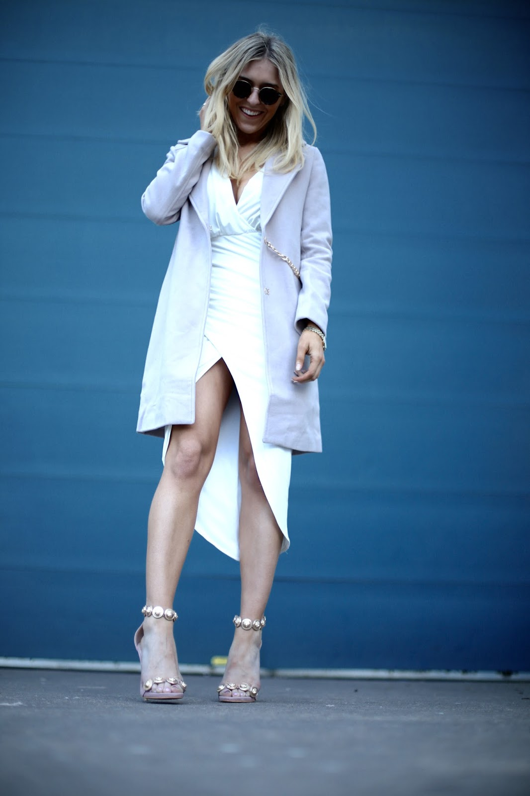 missguided beige jacket