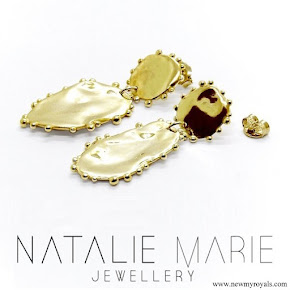 Meghan Markle jewellery Natalie Marie Jewellery Dotted Mana Studs