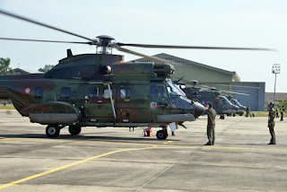 NAS-332 Super Puma TNI AU