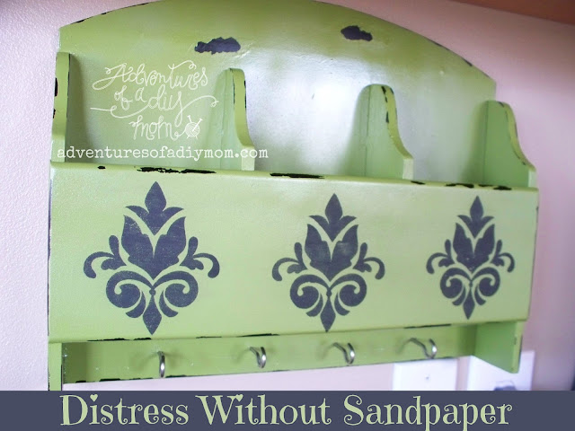 How to Distress without Sandpaper