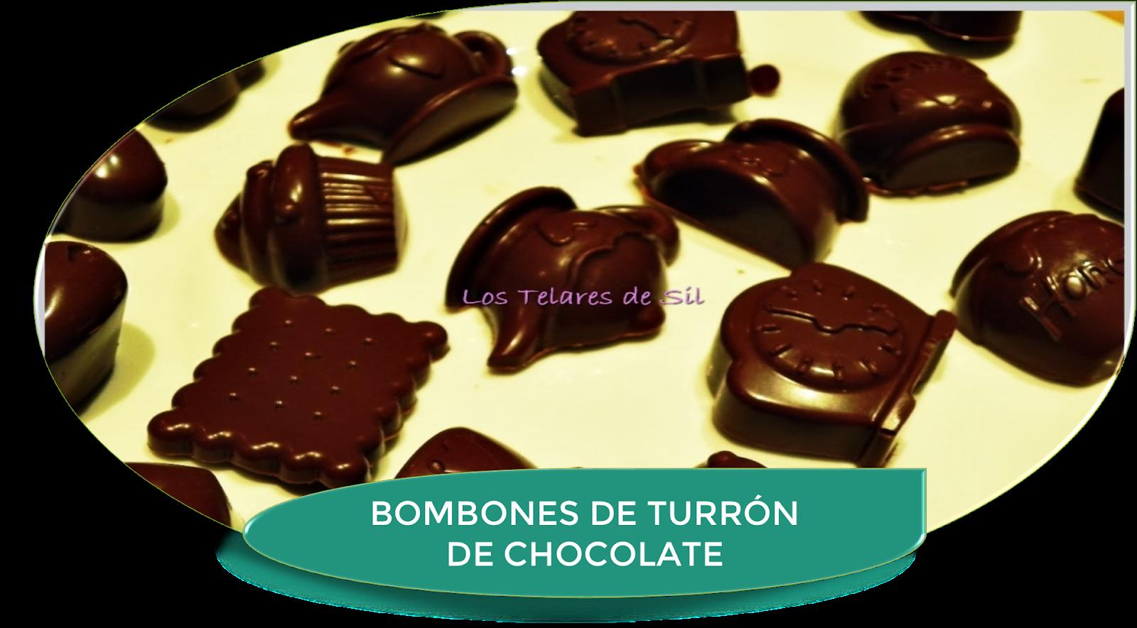BOMBONES CASEROS DE TURRÓN DE CHOCOLATE