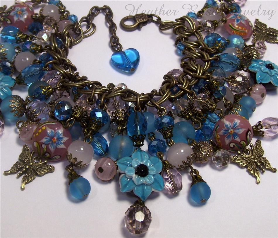 Garden Charms: Heather Rose Jewelry: Heather Rose Jewelry~Butterfly