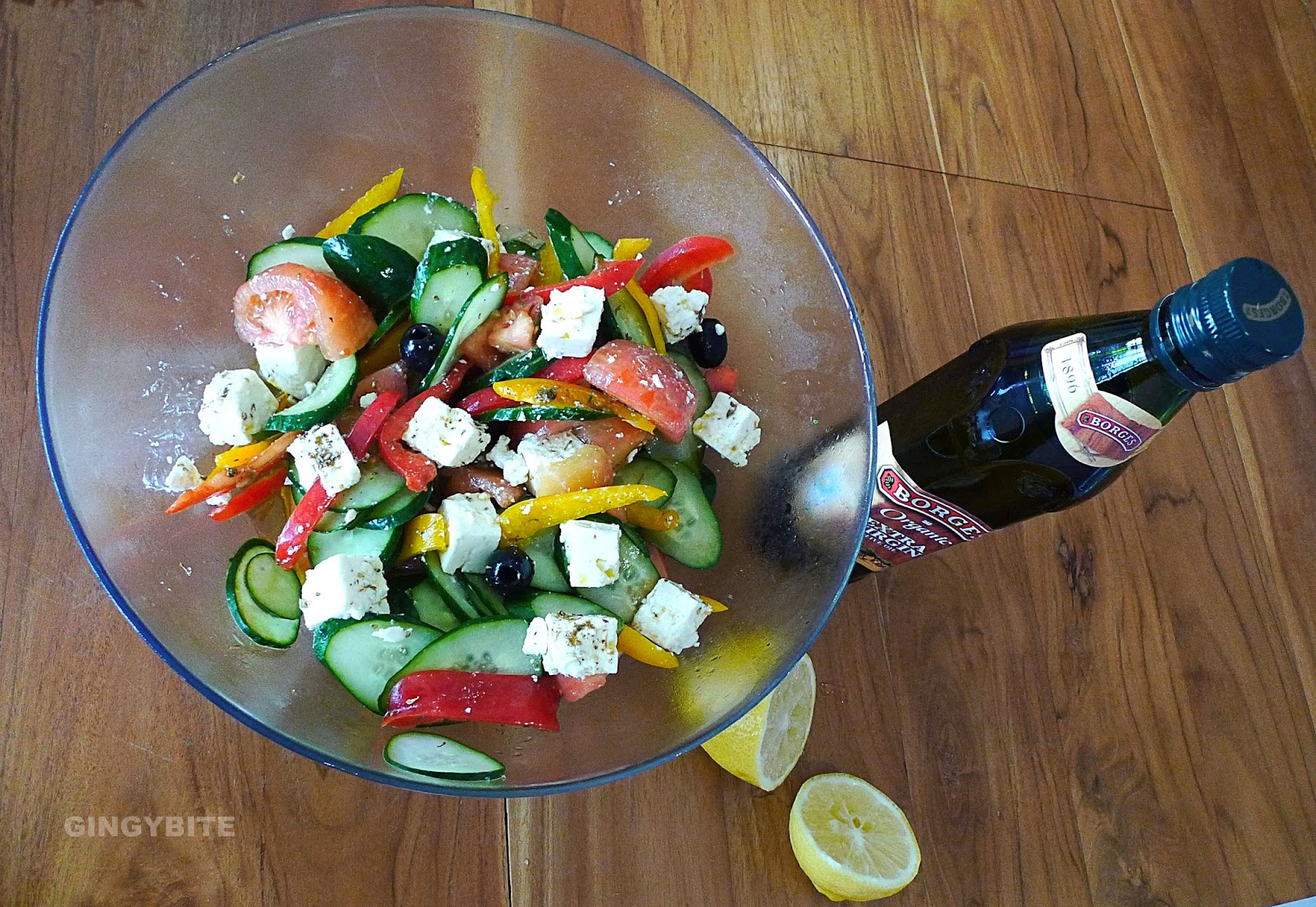 The Simple and Best Tasting Greek Salad