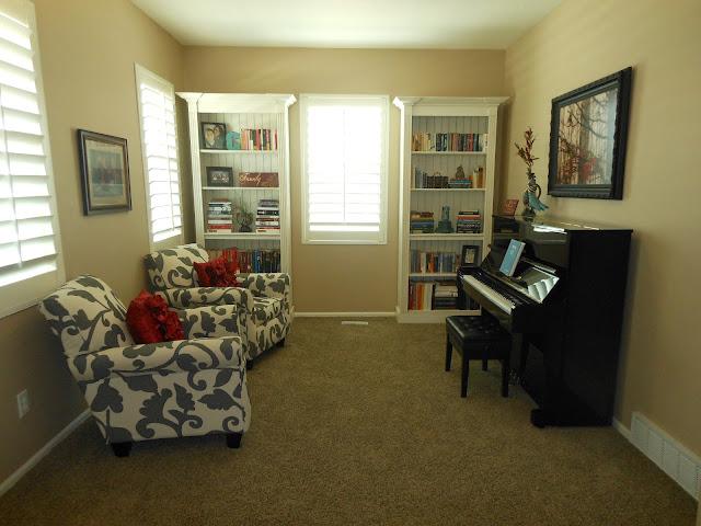 Studio 7 Interior Design Client Reveal Lovely Piano Room