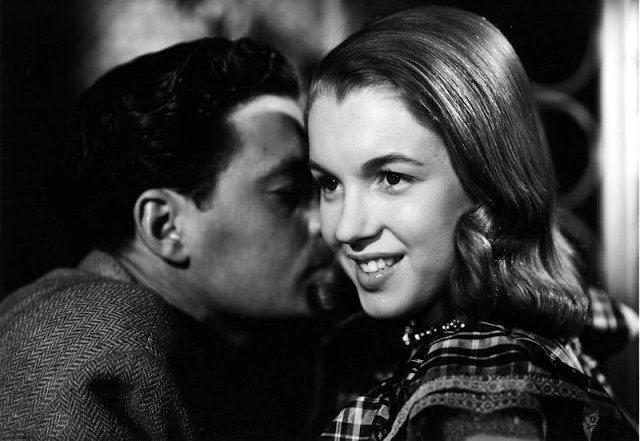 Первый фильм Мэрилин Монро: Редкие фотографии со съёмочной площадки картины «Опасные годы»