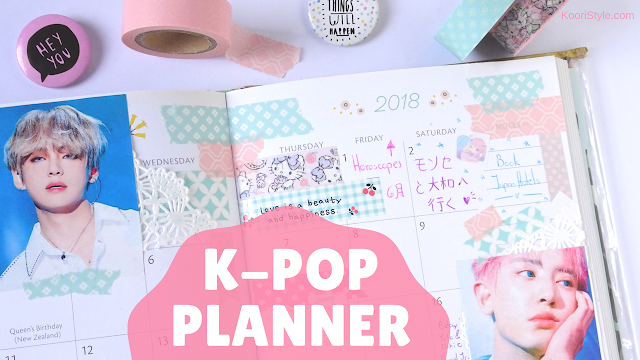 Koori Style, KooriStyle, Kpop, BTS, EXO, VIXX, Pentagon, Bangtan, Idea, Ideas, Planner, Planning, June, Junio, Decoration, Decoracion, Stickers, Pegatinas, Calcomanías, Cute, agenda ,Journal, Taehyung, Suga, Ken, E'dawn, Chanyeol