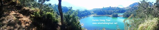 foto panorama bukit sidengkeng dieng