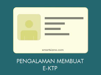 Pengalaman Membuat E-KTP Gratis Tanpa Biaya