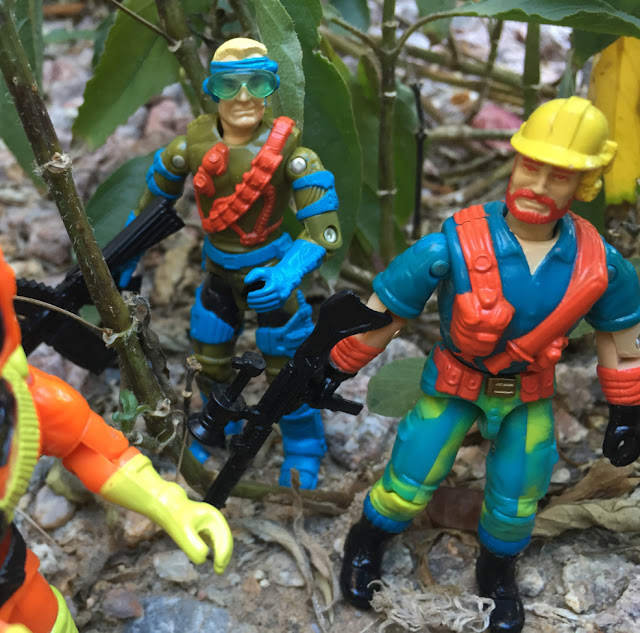 1993 Eco Warriors Outback, Battle Corps, Mudbuster, Star Brigade, Countdown, Ozone, 1991, Mirage