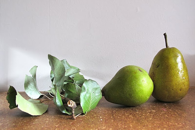 Recept: peren in siroop op de wijze van Tante Gaby...