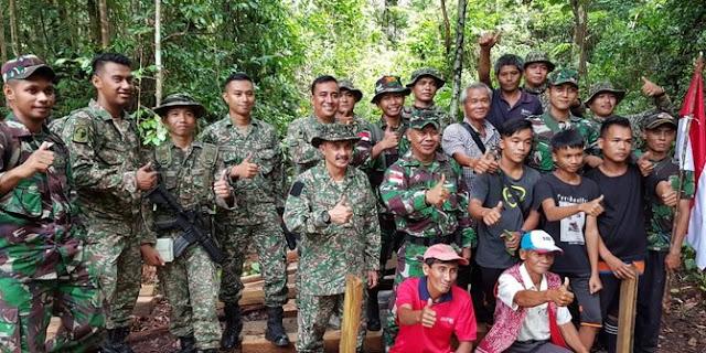 TNI Bantah Culik 5 Warga Malaysia: Mereka Pelaku Ilegal Logging di Kalimantan