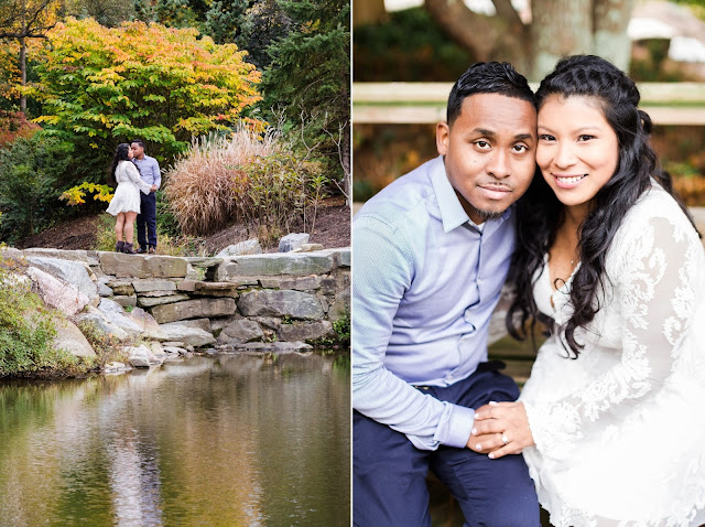 Brookside Gardens Engagement Photos