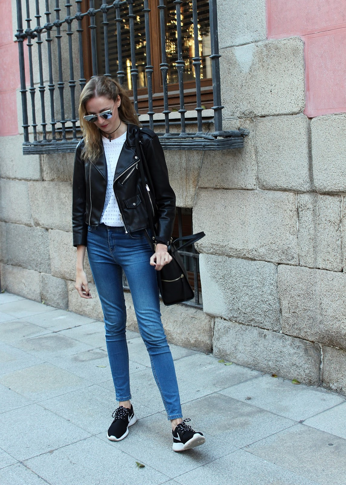 sporty chic look