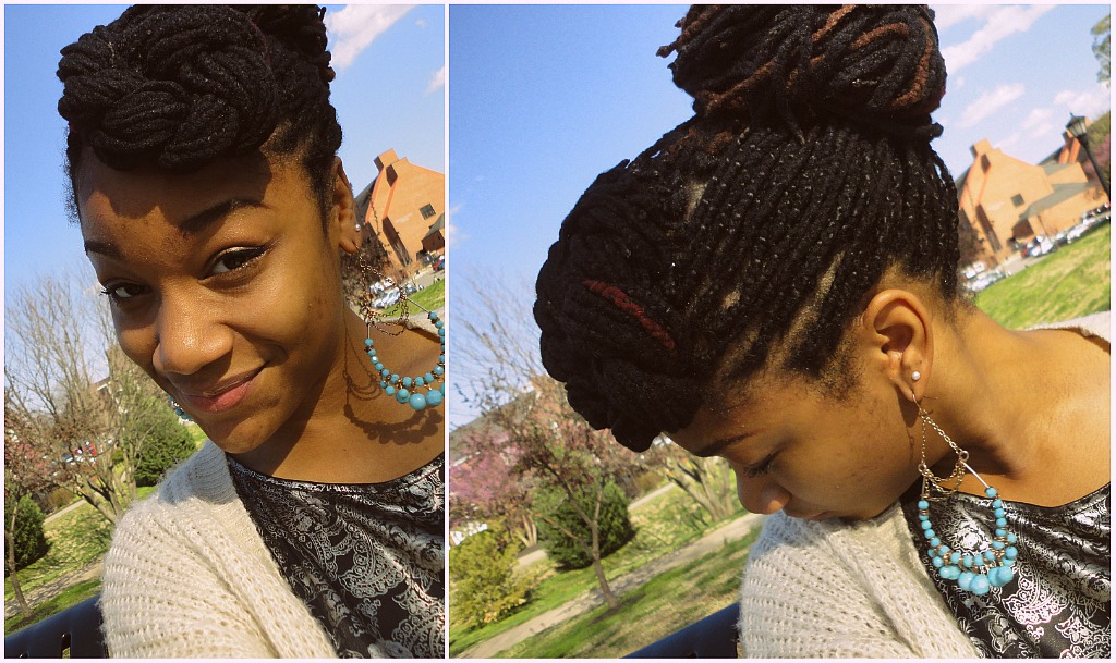 Yarn Braids Hairstyles: All About My Afro: My Genie Locs♥