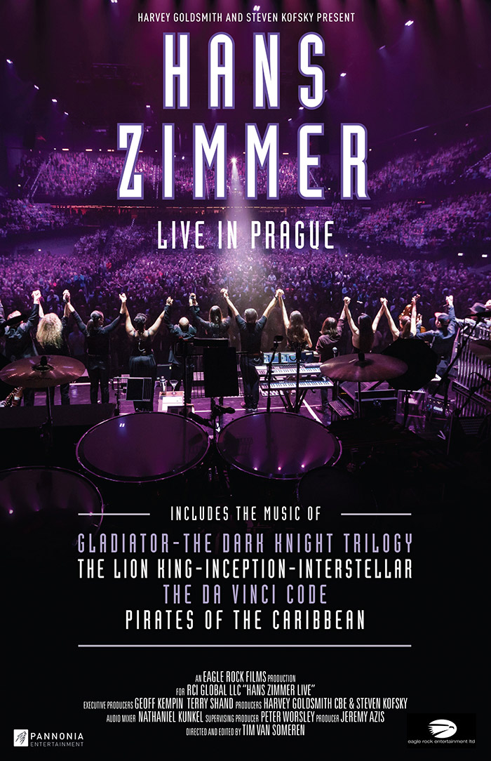 Hans Zimmer Live on Tour – LIVE IN PRAGUE (2017)