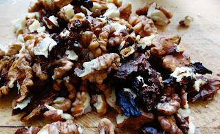 Śliwkowo - orzechowa nutella