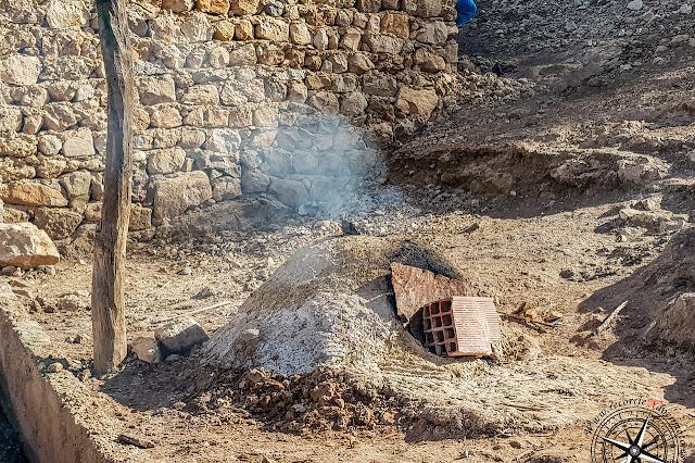 horno de pan, cascadas de I'Oum-er-Rbia