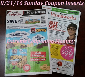 Extreme Couponing Mommy Sunday 8 21 16 Newspaper Coupon Insert Preview