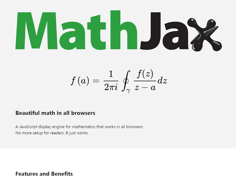 Add MathJax Beautiful Mathematic Notations for Blogger Blogs - ms.airinaa