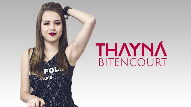 Número de telefone (WhatsApp) Thayná Bitencourt