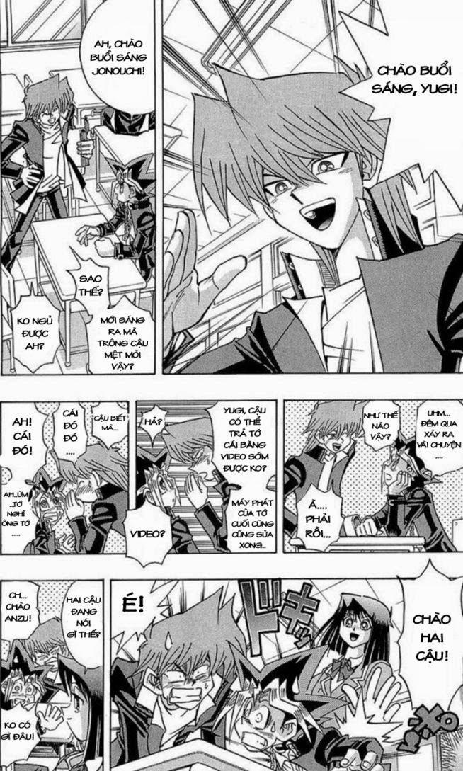 YUGI-OH! chap 281 - hiện vật bí ẩn trang 12