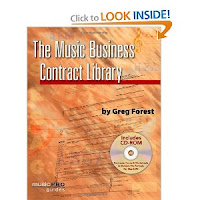 Music Contract Library book cover image