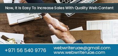Content Writing Dubai