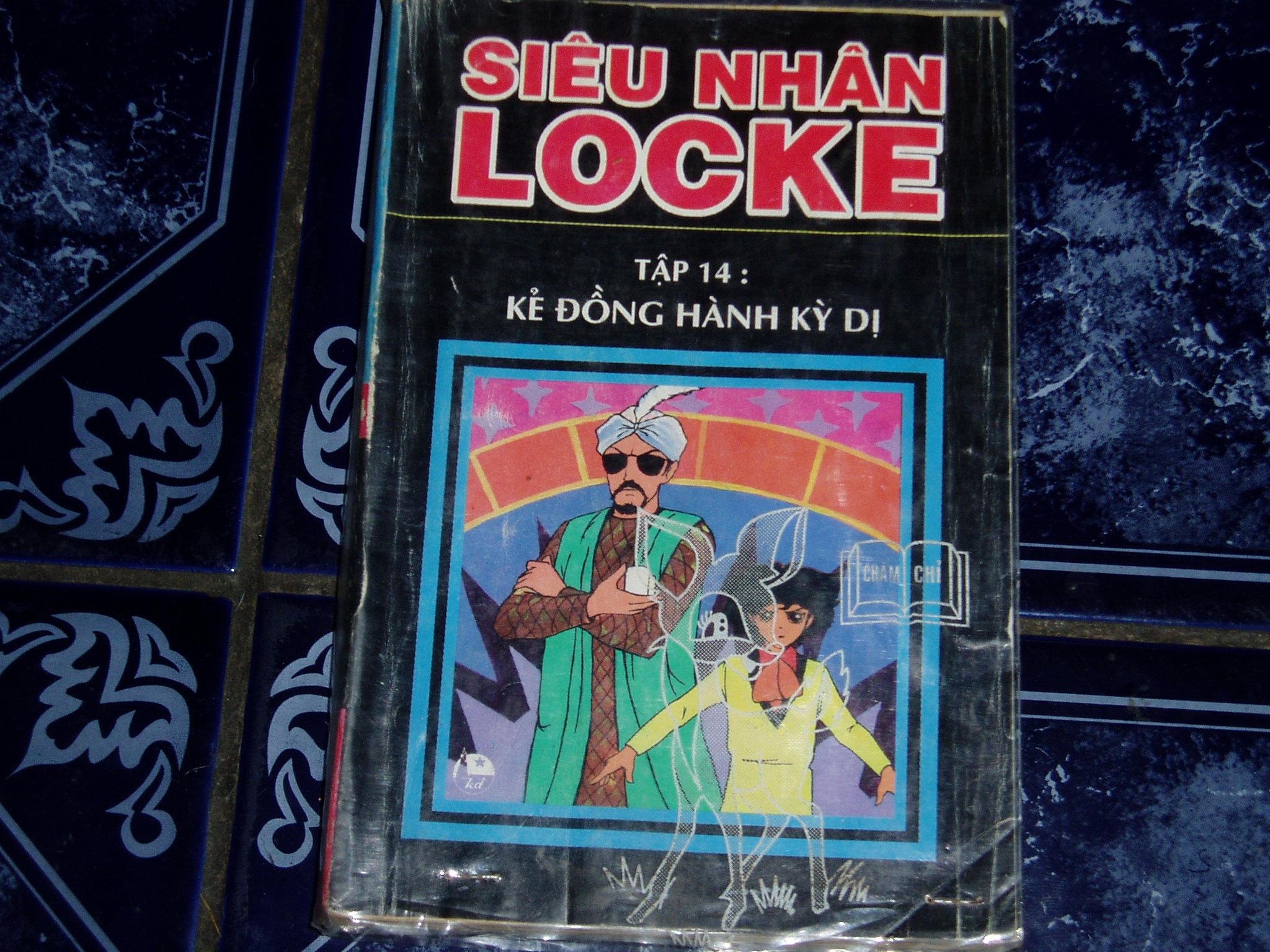 Siêu nhân Locke vol 14 trang 1