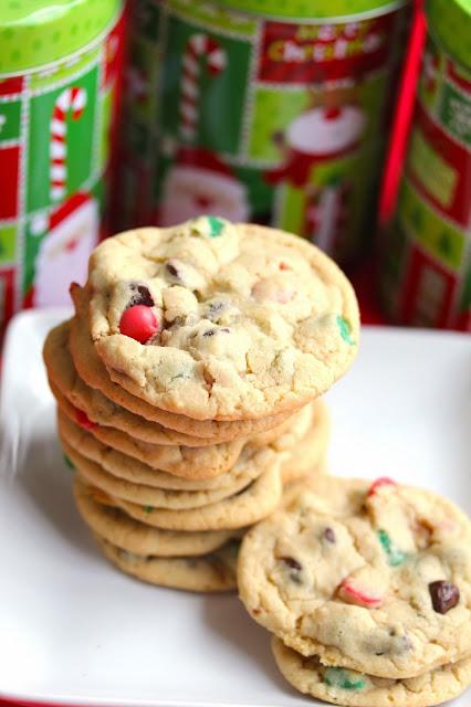 +christmas+chip+cookies+3 - Great Food Blogger Cookie Swap Christmas Chip Cookies