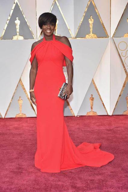 Viola Davis at 89th Annual Academy Awards