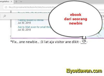 ebook dari newbie untuk newbie